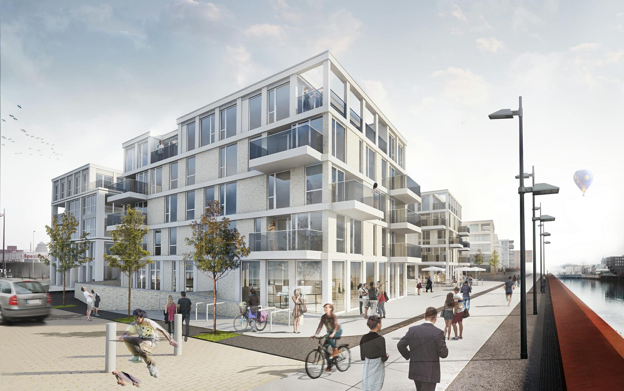 Wbw view port i berseekontor gmd architekten bremen - Architekten bremen ...